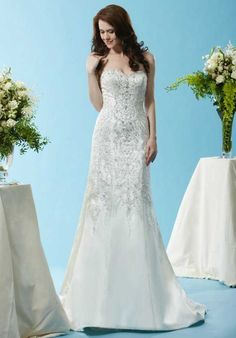 Eden Bridals BL123 A-Line Wedding Dress