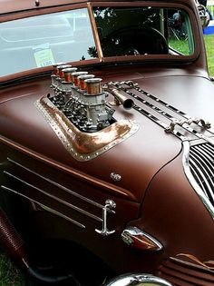 Nice car steampunked