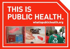 What is Public Health? Great website for anyone considering a career in public health.