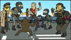 Revolver Ocelot :: Venom Snake (The Punished Snake (MGS)) :: The Phantom Pain :: Kazuhira Miller :: Metal Gear Art :: Metal Gear Comics :: Metal Gear (mgs, Metal Gear Solid, ) :: Simpsons :: Metal Gear Crossover :: crossover :: фэндомы Snake Metal Gear, Metal Gear Games, Kazuhira Miller, Revolver Ocelot, Metal Gear Solid Series, Mgs V, Kojima Productions, Gear Art, Jojo Bizzare Adventure