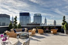 Rooftop Terrace at the Towers at the Lotte New York Palace