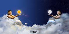 Goddess of the sun and moon  Model: Jessica Sousa
