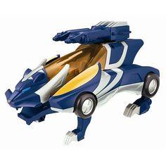 Power Rangers Jungle Fury Deluxe Thunder Vehicle Set by Bandai.