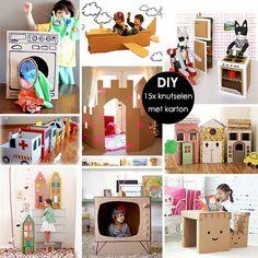 DIY: crafting s kartonem Lady Limonáda Diy Games, Creative Activities, My Little Girl, Boy Or Girl, Tent, Diys, Kids Room, Recycling, Crafts