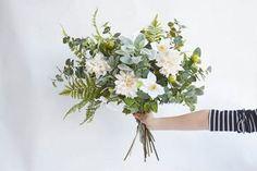 diy-greenery-bouquet