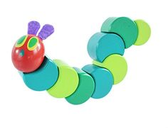 The Very Hungry Caterpillar Wood Grasp and Twist Toy