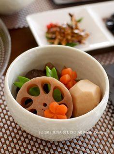 Simmered Vegetables (Nishime)