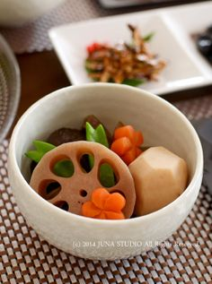 Simmered Vegetables (Nishime) 煮しめ.