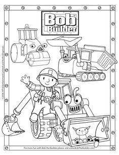 Bob the builder color pages - Coloring Pages & Pictures - IMAGIXS