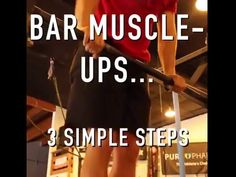 Bar Muscle Up Progression (CrossFit Tutorial) - YouTube