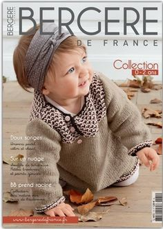 Magazine Bergère de France Layette n°170 #bergeredefrance #knitting #layette