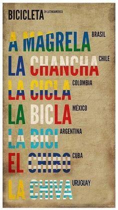 Bicicleta en Latin America.