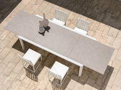 Marble Series of Enamelled Glass Applied in desktop. Wooden Furniture, Furniture Design, Outdoor Furniture, Poolside Furniture, Table Extensible, Braid Designs, Wall Cladding, Splashback, Garden Table