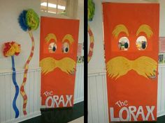 Dr Seuss Door Decorations | The Lorax Dr Seuss Door Decoration | MyClassroomIdeas.com