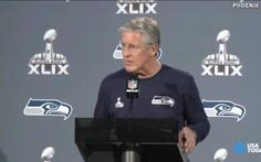 Seattle Seahawks: This Super Bowl Will Be 'Different' - The Seattle Seahawks are in Phoenix getting ready for the big game. Seattle Seahawks head coach Pete Carroll addressed the media about his teams' preparation for the New England Patriots in Super Bowl XLIX.