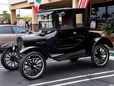 1922 Ford Model T Coupe - black - fvl