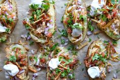 Tex-Mex Potato Skins