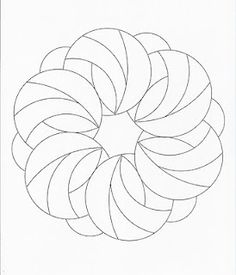 several templates you can print out and zentangle