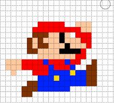 Bildresultat för mario bros bilder pixel art