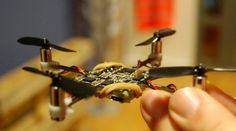 The Crazyflie quadrocopter from Bitcraze has a motor-to-motor measurement of just 9 cm (3....