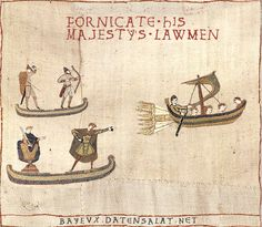 See more 'Medieval Tapestry Edits' images on Know Your Meme! Bayeux Tapestry, Medieval Tapestry, Starwars, Funny Art, Funny Memes, Old Pictures, Funny Pictures, Naughty Cross Stitch, Medieval Memes