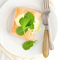 Salmon with Herbed Meyer Lemon Hollandaise Sauce - an easy yet elegant ...