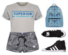 """""""superior"""" by tania-alves ❤ liked on Polyvore featuring Être Cécile, adidas, adidas Originals and MCM"""