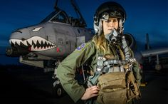 How a Small-Town Girl Ended Up in the Cockpit of an A-10 Warthog