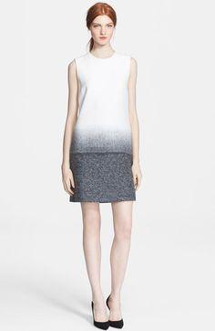 Victoria, Victoria Beckham Wool Crepe Shift Dress | Nordstrom