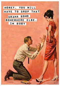 Old fashioned Retro Vintage Retro Humor, Vintage Humor, Retro Vintage, Retro Funny, Karma, Retro Housewife, Housewife Humor, Blunt Cards, Humor Grafico