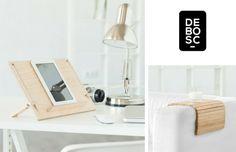Pratique et #design en #bois support de tel/tablette, #plateau ergonomique - @bydebosc vente éphémère sur www.ventescreateurs.com - et autres surprises !