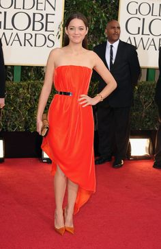 like the sheen and color of this dress, but I'm unsure of the total effect. Golden Globes