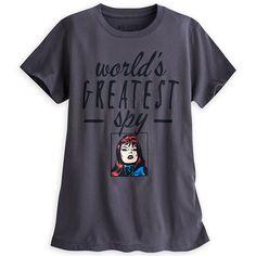 Black Widow Tee for Women by Mighty Fine | Tees, Tops & Shirts | Women | Disney Store