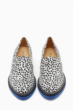 Love a loafer! Look at the blue sole :)