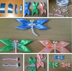 Satin Ribbon Firefly Tutorial