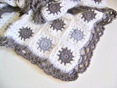 Grey Granny Goodness Blanket
