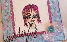 Stamp ALL&Create made by Rosanna Zuppardo Cardmaking, Stamp, Create, Anime, Art, Art Background, Making Cards, Stamps, Anime Shows