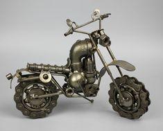 Modelo de escultura del Metal de desecho reciclado por LuxFair …