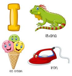 Cartoon I alphabet. Illustration of Cartoon I alphabet , J Alphabet, Teaching The Alphabet, Alphabet For Kids, Animal Alphabet, Alphabet Worksheets, Bubble Alphabet, Kindergarten Syllabus, Kindergarten Anchor Charts, Preschool Learning Activities