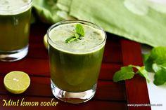 mint-lemon juice