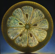 Dennis J. Wojtkiewicz does these oil paintings of fruit slices. He's done cross sections through what looks to be quite the comprehensive fruit salad but my favourites by a mile are these citrus ro...
