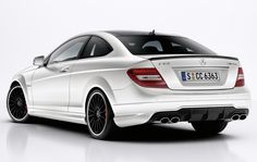 mercedes c63 amg coupe cars