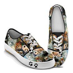 Protect The Wild Women's Shoes * I love the pandas & the PANDA CHARM!