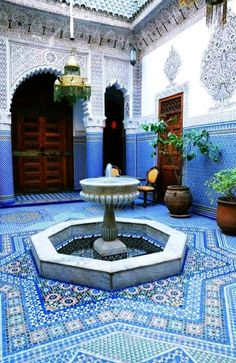 :::: ✿⊱╮☼ ☾ PINTEREST.COM christiancross ☀❤•♥•* ::::Beautiful Islamic art from MOROCCO