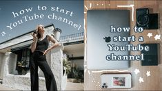 How To Start a YouTube Channel in 2020 — Amanda Jewell Start Youtube Channel, Intro Youtube, You Youtube, What Is Affirmation, Canon Camera Models, Youtube Secrets, Blog Writing Tips, Things To Do When Bored, Social Channel
