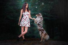 """Se psy podle Veroniky 🐾 na Instagrame: """"Být se psem na jedné vlně. Vědět, co si ten druhý myslí. Dokázat odhadnout, co ten druhý udělá ještě dřív, než to udělá. Za vším se…"""" Merlin, Veronica, Teen, Instagram, Dresses, Fashion, Vestidos, Moda, Fashion Styles"""