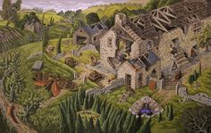 Old Houses and Past Dreams by Mark Rowney, amazing art by an amazing man