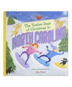 Look at this The Twelve Days of Christmas in North Carolina Hardcover on #zulily today!