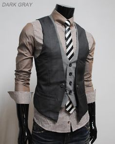 men's vest/layering