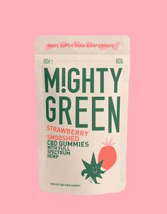 Graphic Design Discover Mighty Green Mighty Green on Packaging of the World - Creative Package Design Gallery Logo Design, Web Design, Label Design, Design Trends, Package Design, Brochure Design, Dashboard Design, Design Art, Design Ideas